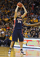December 29 2010: Illinois Fighting Illini center Mike Tisdale (54) with the ball during the second half of an NCAA college basketball game at Carver-Hawkeye Arena in Iowa City, Iowa on December 29, 2010. Illinois defeated Iowa 87-77.