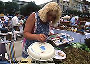Folk art painting, Hanover Festival, York Co., PA