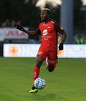 Fotball , 15. sep 2018 , Eliteserien,<br />Haugesund - Brann Bergen<br />Gilbert Koomson fra Brann Bergen i aksjon mot Haugesund.<br />Foto: Andrew Halseid Budd , Digitalsport