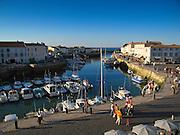 St Martin de Ré Harbour, Ile de Ré, France