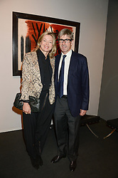 TIM TAYLOR & LADY HELEN TAYLOR at the PAD Art and Design Fair 2013 Collectors Preview in Berkeley Square, London on 14th October 2013.