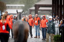 Team Netherlands, Renske Kroeze, Betina Hoy, Kooremans Raf, Van de Vendel Theo<br /> World Equestrian Games - Tryon 2018<br /> © Hippo Foto - Dirk Caremans<br /> 16/09/2018