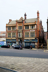 The Market Tavern Exchange Street Sheffield. empty,  derelict and dilapidated looking was once the watering hole of the market traders from Sheffield old Castle Market<br /> <br />  Copyright Paul David Drabble<br />  18 September 2010<br />  www.pauldaviddrabble.co.uk