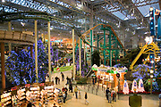 "Minnesota USA, Minneapolis, ""Mall of America"" pre Christmas shopping in the the largest indoor mall in the U.S November"