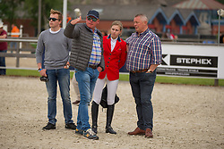 Peeters Leonie, (BEL)<br /> Class 16 Nations Cup YR<br /> International Competition CSIO Young Riders Opglabbeek 2016<br /> © Dirk Caremans