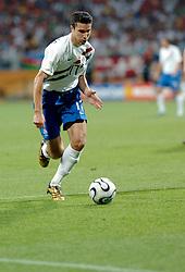 25-06-2006 VOETBAL: FIFA WORLD CUP: NEDERLAND - PORTUGAL: NURNBERG<br /> Oranje verliest in een beladen duel met 1-0 van Portugal en is uitgeschakeld / VAN PERSIE Robin<br /> ©2006-WWW.FOTOHOOGENDOORN.NL