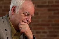 16 DEC 2004, BERLIN/GERMANY:<br /> Adolf Muschg, Schriftsteller und Praesident der Akademie der Kuenste, Berlin, waehrend einem Interview, Akademie der Kuenste<br /> IMAGE: 20041216-03-012<br /> KEYWORDS: Präsident Akademie der Künste
