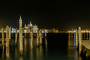 San Giorgio Maggiore, Venice by night, World Heritage Site, Italy, Europe