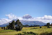 Taranaki volcano.