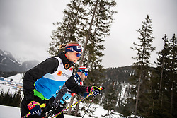 February 22, 2019 - Seefeld In Tirol, AUSTRIA - 190222 Astrid Uhrenholdt Jacobsen of Norway at a cross-country skiing training session during the FIS Nordic World Ski Championships on February 22, 2019 in Seefeld in Tirol..Photo: Joel Marklund / BILDBYRN / kod JM / 87881 (Credit Image: © Joel Marklund/Bildbyran via ZUMA Press)