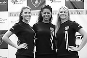 August 22-24, 2014: Virginia International Raceway. Lamborghini grid girls