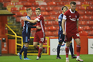 Aberdeen midfielder Lewis Ferguson (19) during the Scottish Premiership match between Aberdeen and Hamilton Academical FC at Pittodrie Stadium, Aberdeen, Scotland on 20 October 2020.