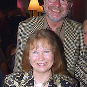 Galaconcert Anneke Grönloh Den Haag, Wieteke van Dort en man Theo Moody