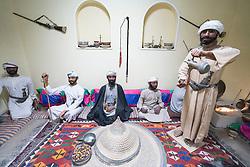 interior display at National Museum in Al Ain United Arab Emirates