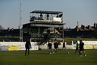 Football - 2020 / 2021 Emirates FA Cup - Round Three: Chorley vs. Derby County<br /> <br /> TV cameras cover the warm ups, at Victory Park.<br /> <br /> COLORSPORT/ALAN MARTIN