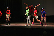 """19 January 2015-Santa Barbara, CA: The Arlington Theater Program; Santa Barbara Dance Institute, Rosalina Macisco, Director.  Santa Barbara Honors Dr. Martin Luther King Jr. with a Day of Celebration.  The Santa Barbara MLK, Jr. Committee chose """"Drum Majors for Justice"""" as it's theme for the day which included a Pre-March Program in De la Guerra Plaza followed by a march up State Street to the Arlington Theater for speakers, music and poetry.  The program concluded with a Community Lunch at the First United Methodist Church in Santa Barbara.  Photo by Rod Rolle"""