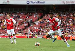 Tyreece John-Jules of Arsenal on the ball - Mandatory by-line: Arron Gent/JMP - 28/07/2019 - FOOTBALL - Emirates Stadium - London, England - Arsenal v Olympique Lyonnais - Emirates Cup