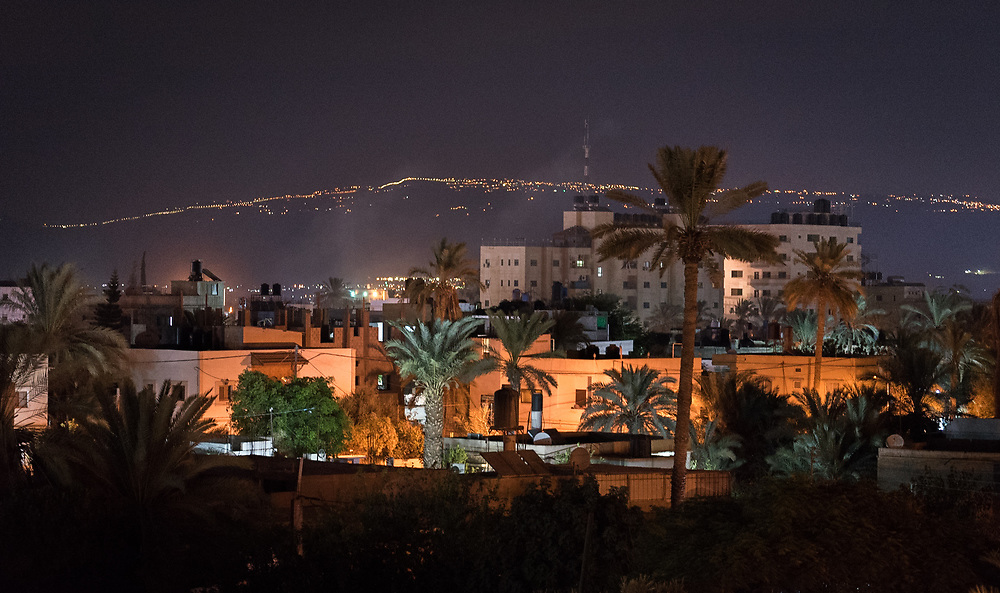 6 October 2018, Jericho, Occupied Palestinian Territories: The town of Jericho, with the view towards Jordan in the distance.
