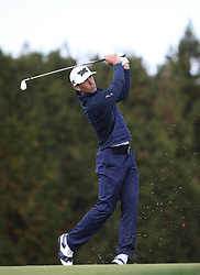 Oct 19, 2018-Jeju, South Korea-BILLY HORSCHEL of USA action on the 15th green during the PGA Golf CJ Cup Nine Bridges Round 2 at Nine Bridges Golf Club in Jeju, South Korea.