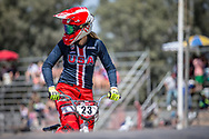 #23 (STANCIL Felicia) USA at round 8 of the 2018 UCI BMX Supercross World Cup in Santiago del Estero, Argentina.