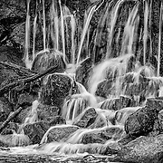 This is a small section of one of my favorite places to shoot.  There was lots of snow over the winter so there was plenty of water.  The slow shutter speed gave just enough blur to the water.