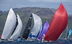 Clyde Cruising Club's Scottish Series 2019<br /> 24th-27th May, Tarbert, Loch Fyne, Scotland<br /> <br /> Day  1 - RC35 Fleet with IRL2160, Chimaera, Andrew Craig, Royal Irish YC, IRC,<br /> GBR732R, Hijacker, S. Cranston and J. Buchanan, Down Cruising Club, Ker 32<br /> <br /> Credit: Marc Turner / CCC