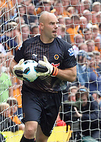 Molineux Grounds Wolverhampton Wanderers v Stoke City (2-1) Premier League 14/08/2010<br /> Marcus Hahnemann (Wolves)<br /> Photo Roger Parker Fotosports International