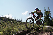 SHOT 8/5/17 11:13:52 AM - Photos while riding Brian Head Resort in Brian Head, Utah with Vesta Lingvyte of Denver, Co. Also includes images while riding the Thunder Mountain Trail in Southwestern Utah. (Photo by Marc Piscotty / © 2017)