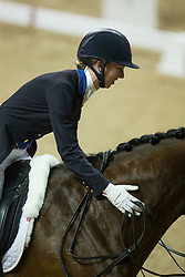 Graves Laura, (USA), Verdades<br /> Longines FEI World Cup™ Dressage Final I<br /> Las Vegas 2015<br />  © Hippo Foto - Dirk Caremans<br /> 16/04/15