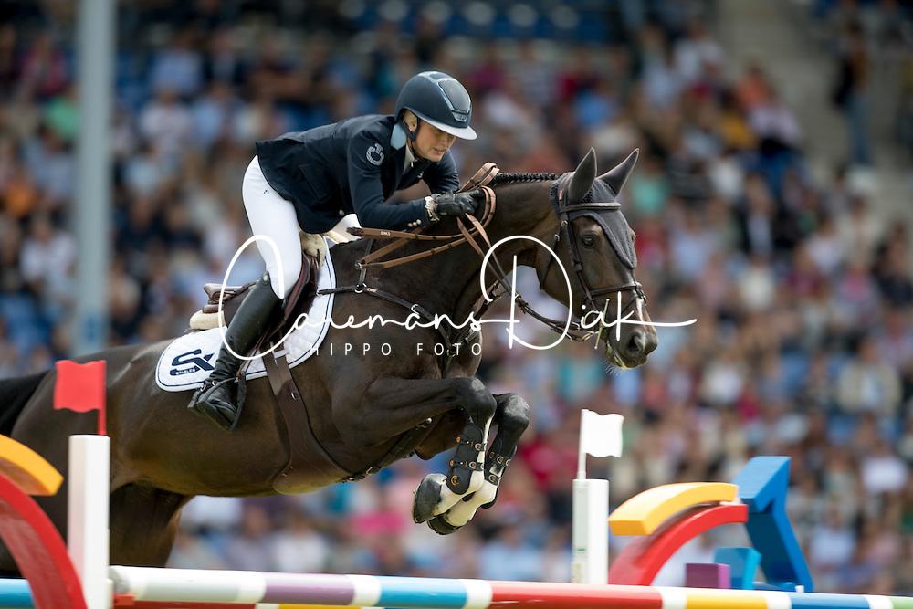 Ekberg Jonna, (SWE), Air Pia v Z<br /> Rolex Grand Prix<br /> CHIO Aachen 2016<br /> © Hippo Foto - Dirk Caremans<br /> 17/07/16