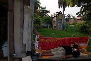 Maraba _ PA, 05 Novembro de 2006....Retratos dos personagens do documentario Serra Pelada, produzido pela produtora carioca TV ZERO e dirigido por Victor Lopes.....Na Foto: Agenor em frente a sua casa denominada Manjedora de Maria. Personagem do filme e um dos muitos ex-garimpeiros que ainda lutam por alguns direitos.....Foto exclusiva para divulgacao do filme. Proibida recirculacao. Outros usos contactar Agencia Nitro (31) 3297 7848.......Foto: BRUNO MAGALHAES / AGENCIA NITRO....!CREDITOS OBRIGATORIOS!