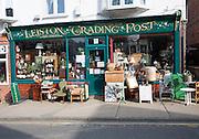 Trading Post antique shop in Leiston, Suffolk, England