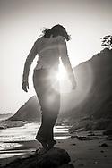 Renée, Hendry's Beach.