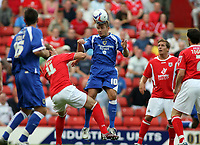 Photo: Rich Eaton.<br /> <br /> Barnsley v Cardiff City. Coca Cola Championship.<br /> <br /> 05/08/2006. Stephen McPhaill (10) in action for Cardiff against his old side Barnsley
