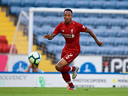 BLACKBURN, ENGLAND - Thursday, July 19, 2018: Liverpool's Nathaniel Clyne during a preseason friendly match between Blackburn Rovers FC and Liverpool FC at Ewood Park. (Pic by David Rawcliffe/Propaganda)