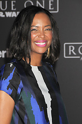 December 10, 2016 - Los Angeles, California, United States - December 10th 2016 - Los Angeles California USA - Actress  AISHA TYLER  at the World Premiere for ''Rogue One Star Wars'' held at the Pantages Theater, Hollywood, Los Angeles  CA (Credit Image: © Paul Fenton via ZUMA Wire)