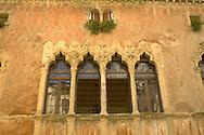 Palace windows -Padua, Veneto - Italy