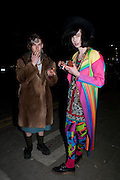 LEO CARLTON; JOSH QUINTON, Ponystep - issue 3 launch party, George and Dragon, 2-4 Hackney Road, London, E2.  April 5 2012.