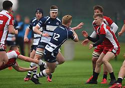 Josh Wright (Millfield School) of Bristol Rugby Academy U18 - Mandatory by-line: Paul Knight/JMP - 11/02/2017 - RUGBY - SGS Wise Campus - Bristol, England - Bristol Academy v Gloucester Academy - Premiership Rugby Academy U18 League
