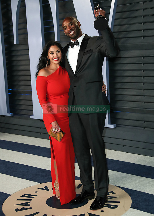 (FILE) Kobe Bryant Dies At 41. BEVERLY HILLS, LOS ANGELES, CALIFORNIA, USA - MARCH 04: Vanessa Laine Bryant and husband/American basketball player Kobe Bryant arrive at the 2018 Vanity Fair Oscar Party held at the Wallis Annenberg Center for the Performing Arts on March 4, 2018 in Beverly Hills, Los Angeles, California, United States. 05 Mar 2018 Pictured: Vanessa Laine Bryant, Kobe Bryant. Photo credit: Xavier Collin/Image Press Agency/MEGA TheMegaAgency.com +1 888 505 6342
