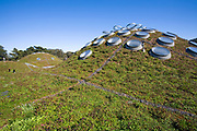 The Living Roof, California Academy of Sciences, Golden Gate park, San Francisco, California, USA