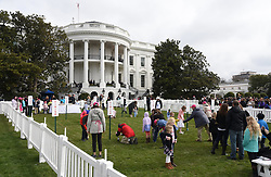 Easter Egg Roll race during the 140th Easter Egg Roll on the South Lawn of the White House in Washington, DC on Monday, April 2, 2018. Photo by Olivier Douliery/Abaca Press