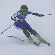 Winter Olympics, Vancouver, 2010. Macarena Simari Birkner, Argentina, in action in the Alpine Skiing Ladies Slalom at Whistler Creekside, Whistler, during the Vancouver Winter Olympics. 24th February 2010. Photo Tim Clayton