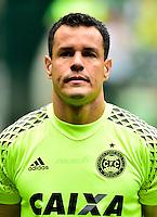 "Brazilian Football League Serie A / <br /> ( Coritiba Foot Ball Club ) - <br /> Wilson Rodrigues de Moura Junior "" Wilson """