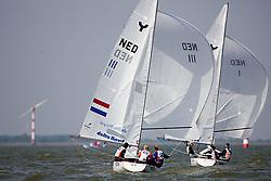 08_002723 © Sander van der Borch. Medemblik - The Netherlands,  May 24th 2008 . Day 4 of the Delta Lloyd Regatta 2008.