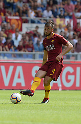 September 16, 2018 - Rome, Italy - Bryan Cristante during the Italian Serie A football match between A.S. Roma and Chievo at the Olympic Stadium in Rome, on september 16, 2018. (Credit Image: © Silvia Lore/NurPhoto/ZUMA Press)