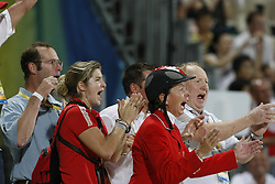 Henselwood Jill (CAN), Lamaze Eric (CAN)<br /> Olympic Games Hong Kong 2008<br /> Photo © Dirk Caremans - Hippo Foto