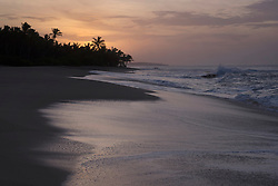 Scenic view of beach during sunset, Tangalle, South Province, Sri Lanka