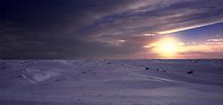 Eldhraun skammt frá Kirkjubæjarklaustri að vetri / The lava, Eldhraun near Kirkjubaejarklaustur during winter