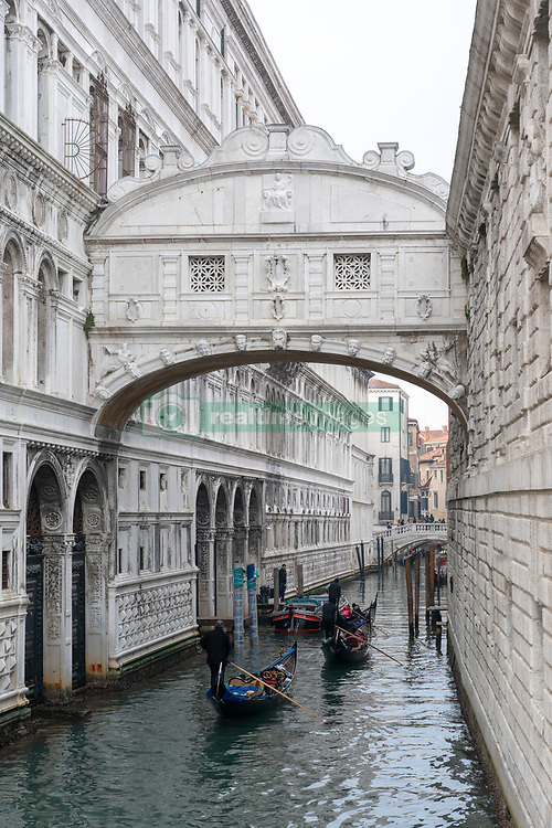 The Bridge of Sighs in Venice. From a series of travel photos in Italy. Photo date: Monday, February 11, 2019. Photo credit should read: Richard Gray/EMPICS
